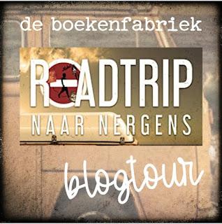 Recensie door De boekenfabriek over Roadtrip naar nergens geschreven door Barbara De Smedt voor de blogtour georganiseerd door de uitgever Hamley Books