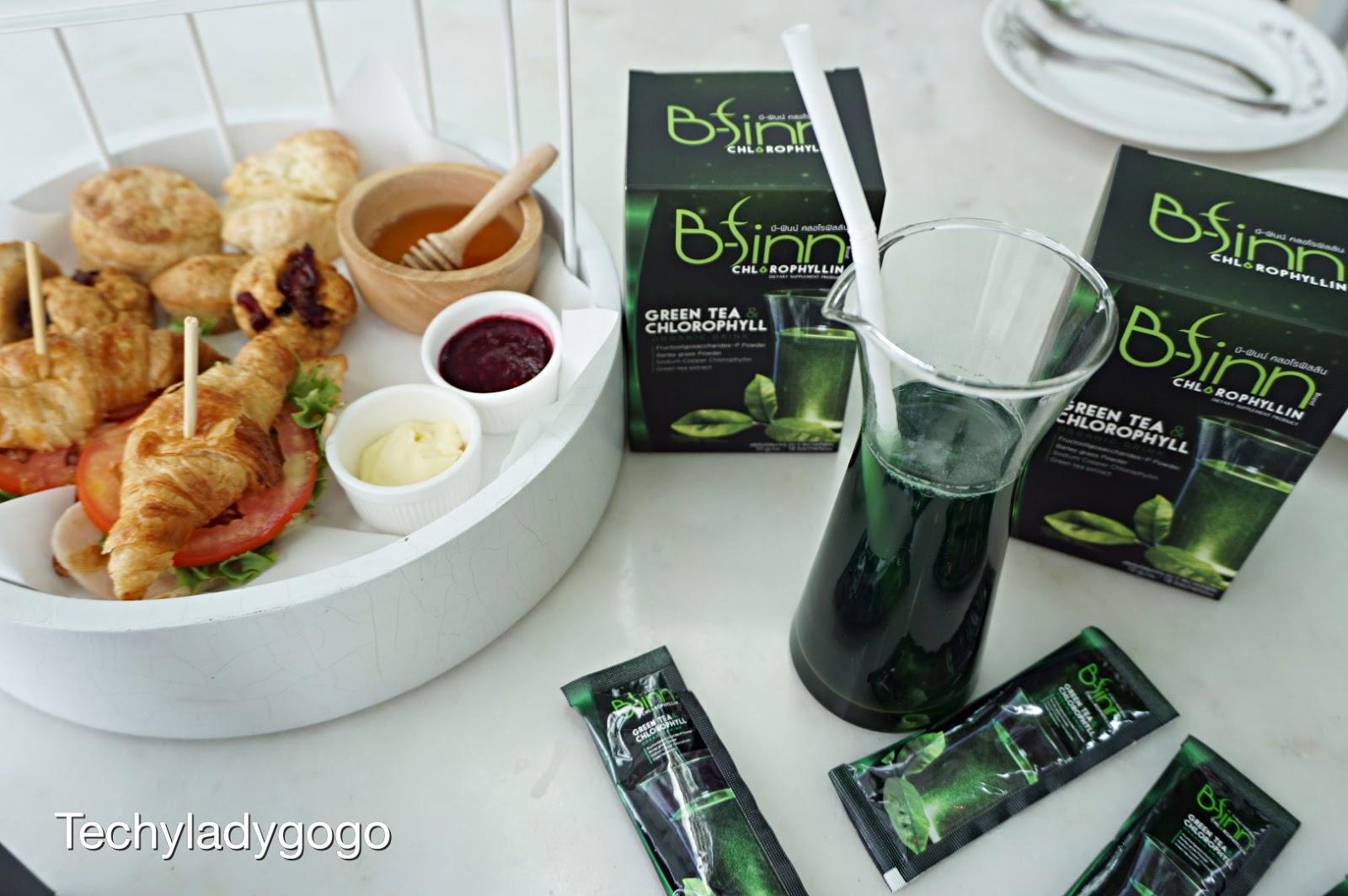 รีวิว B-finn Chlorophyllin บี-ฟินน์ คลอโรฟิลลิน เครื่องดื่มคลอโรฟิลล์ สีเขียว แสนอร่อย ดีต่อสุขภาพ