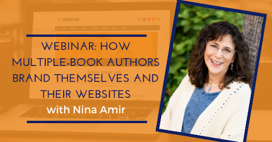 2019 Webinar: How Multiple-Book Authors Brand Themselves and Their Websites