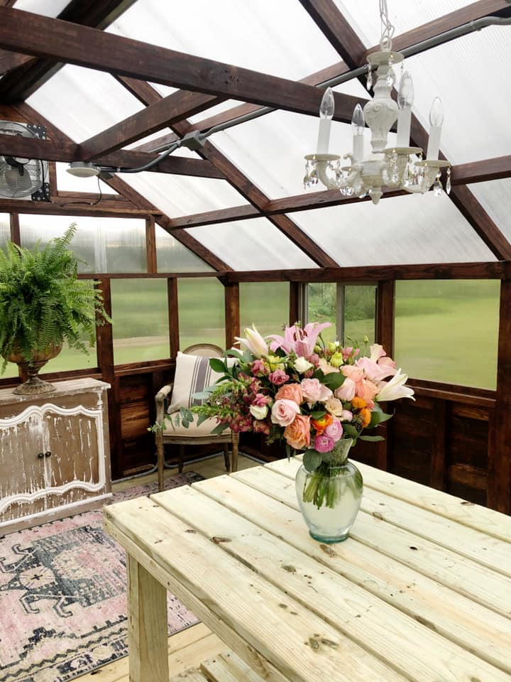 Yoderbilt Greenhouse Farmgirl Flowers