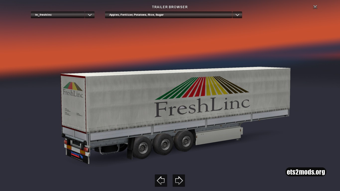 Freshlinc Standalone Trailer