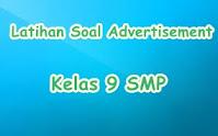 Contoh Soal Latihan Advertisement Text – SMP Kelas 9