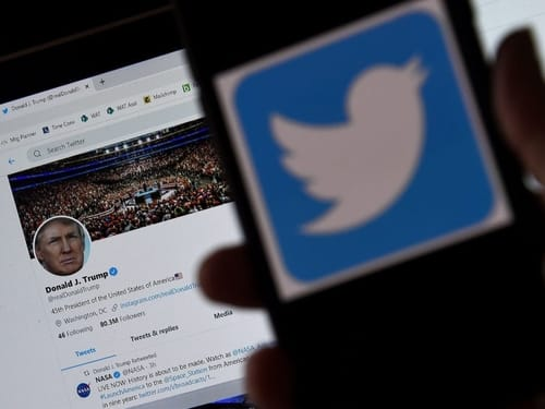 Twitter imposed more restrictions and warning signs ahead of the election