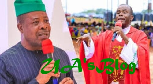 Get Ready To Leave Imo Govt House, My Prophecy Must Come To Pass, Mbaka Tells Ihedioha