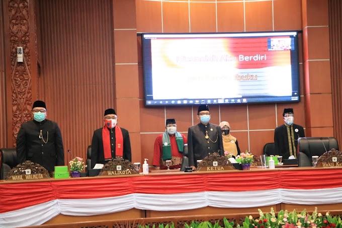 DPRD Gelar Paripurna Pandangan Umum Fraksi Terhadap Empat Raperda Depok