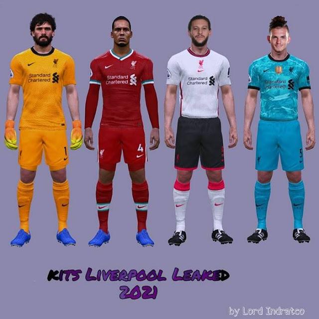 PES 2017 Liverpool Leaked Kits 2020-2021