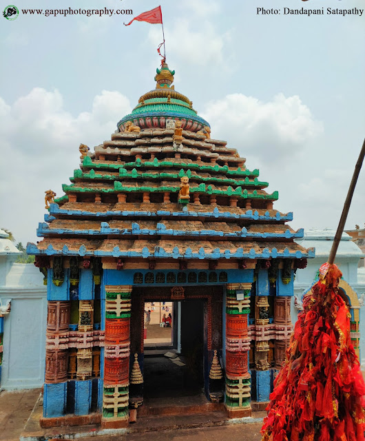 Lion Gate of Maa Taratarini Temple