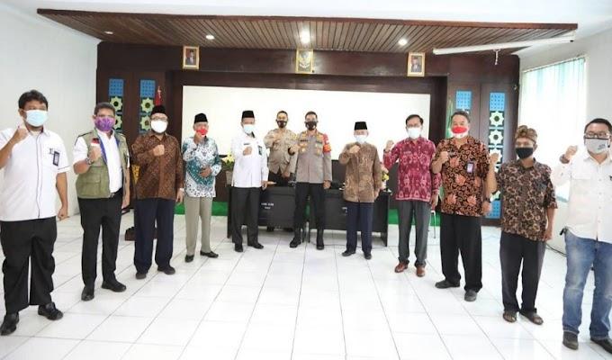 Rajut Kebhinekaan dan Rawat Keberagaman, Kapolres Kota Tangerang Silaturahmi bersama FKUB