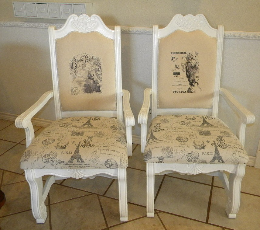 Redoing dining room chairs
