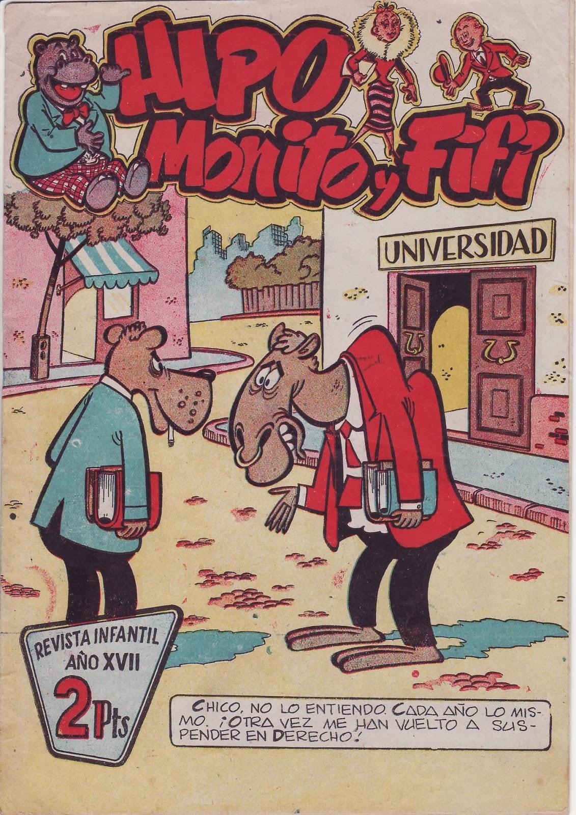 Hipo Monito y Fifí 2ª nº 7