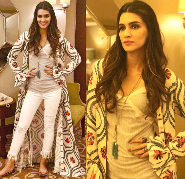 Kriti Sanon's looks at Bareilly ki barfi promotions
