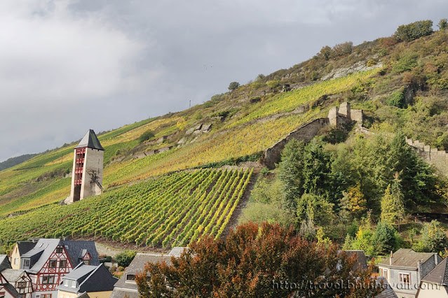 Bacharach - The most beautiful, charming town in Rhine Valley
