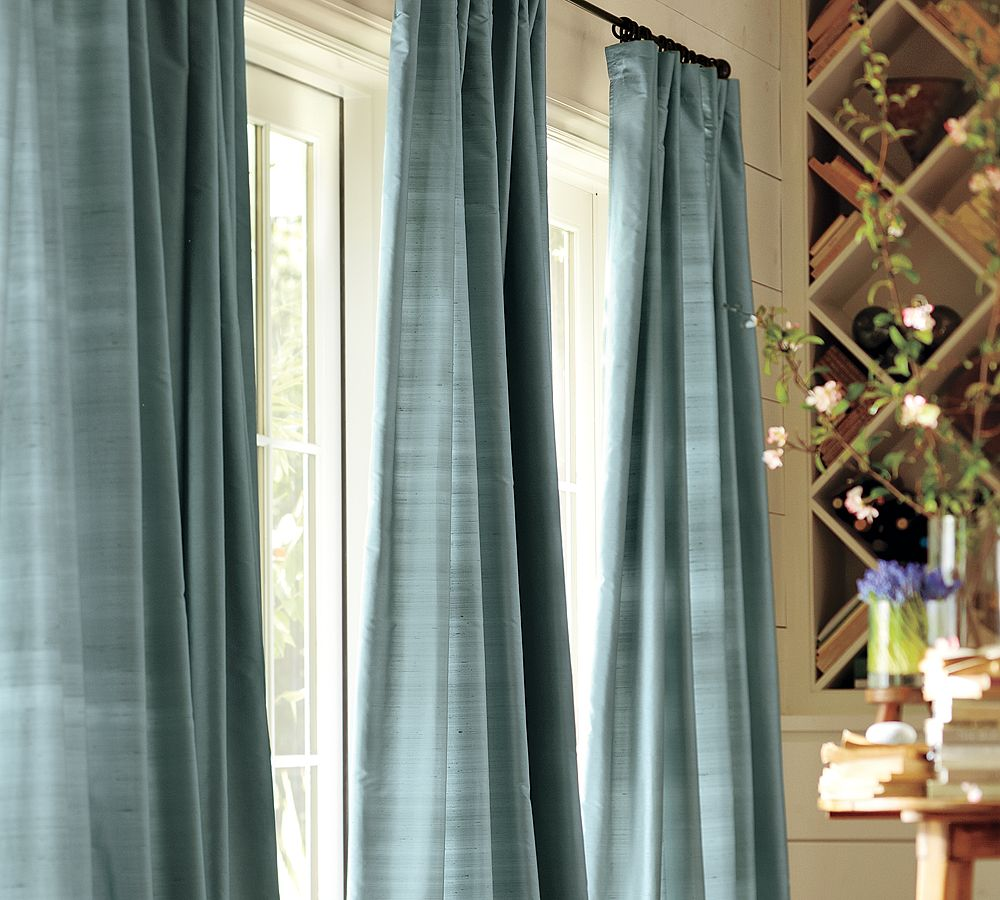 Made Of Metal: Extra Long Curtains