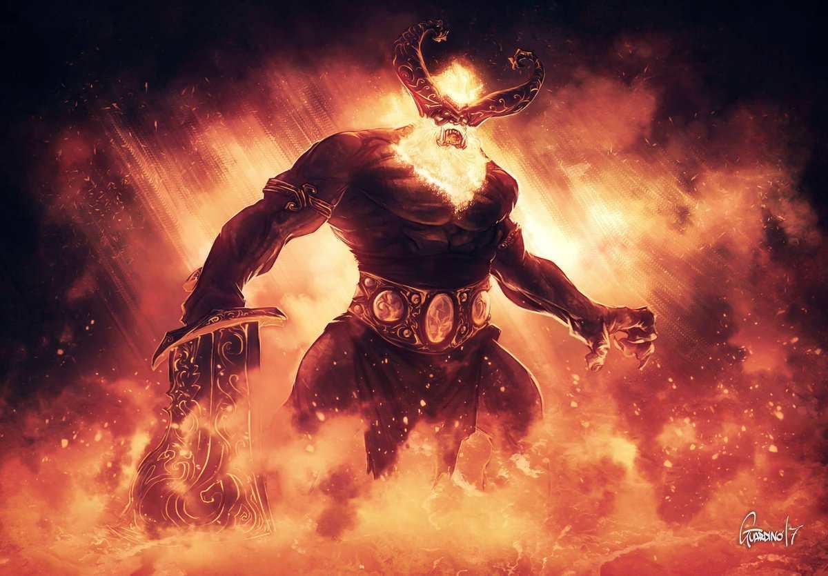 Os Gigantes do Fogo