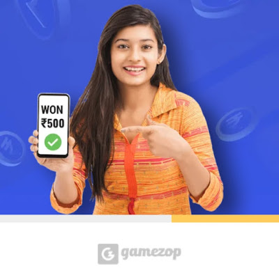 GameZop Website Refer Earn