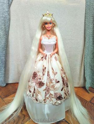 Mattel Jewel Hair Mermaids Barbie doll