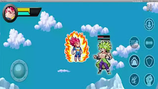 DBZ Mugen power Warriors apk