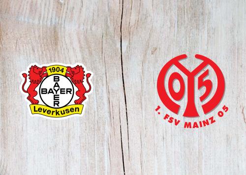 Bayer Leverkusen vs Mainz 05 -Highlights 27 June 2020