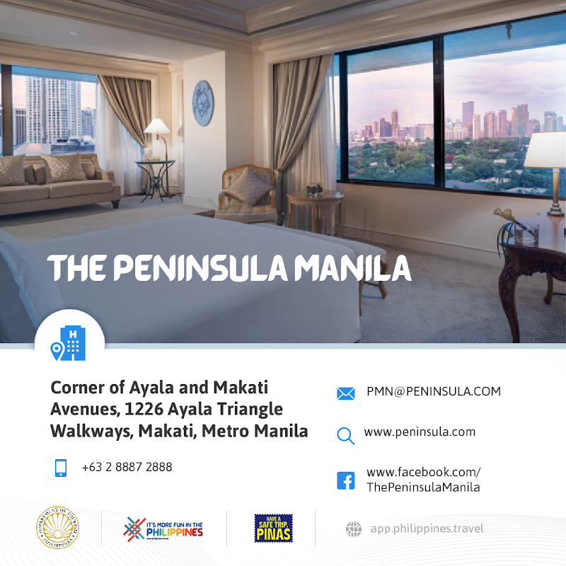 The Peninsula Hotel New Normal Hotels in Metro Manila DOT-Accredited Hotels