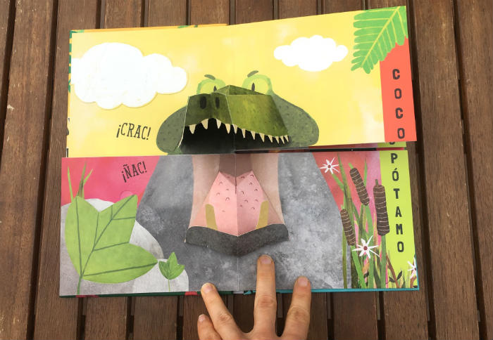 libro Mezcla pop-up La selva Bruño
