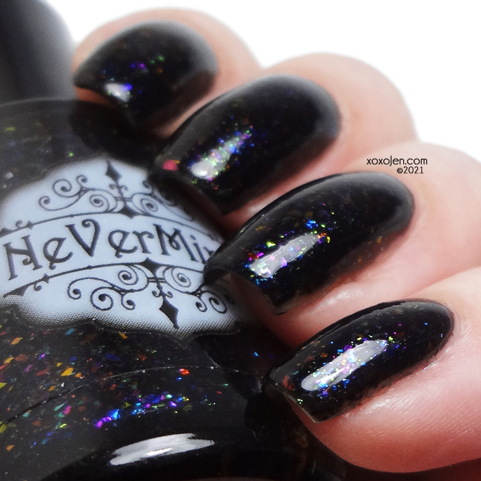 xoxoJen's swatch of NeVermind Apothecary: Qwirkle Quirks