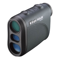 Nikon 8397 ACULON Laser Rangefinder, measures a range between 6 and 550 yards, measurements displayed in 1 meter/yard increments