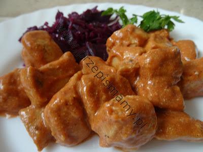 Filet z kurczaka z keczupem