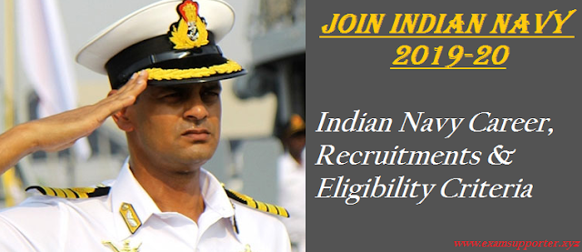 Join Indian NAvy by www.examsupporter.xyz