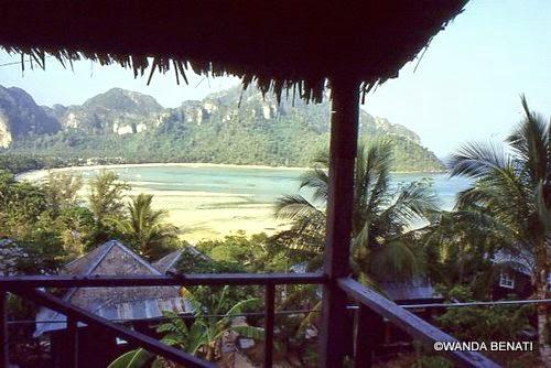 Panorama di Phi Phi Island, Thailandia
