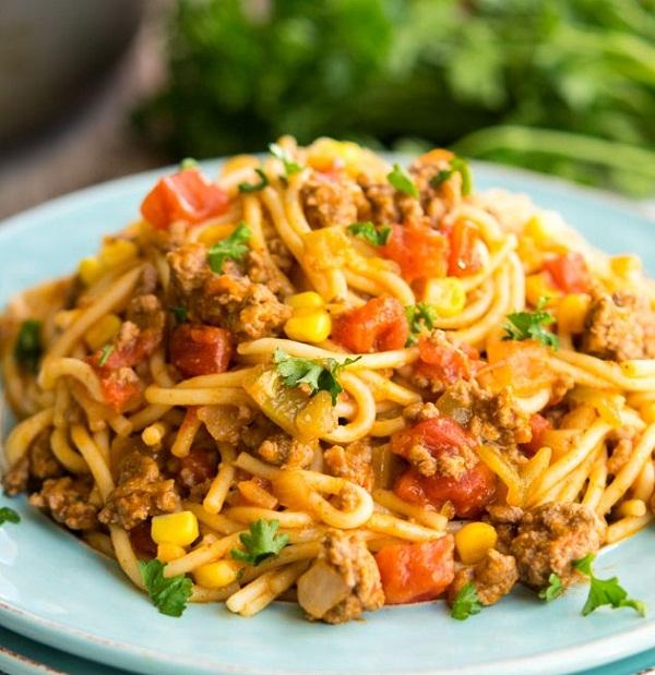 Mexican Spaghetti Recipes