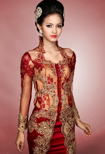Model Kebaya Akad Nikah Anne Avantie Terbaru