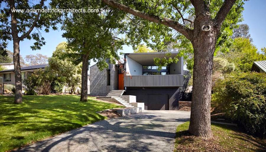 Casa australiana de diseño ultramoderno