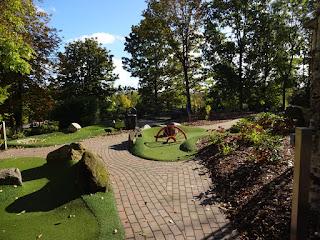 Adventure Golf at Telford Town Park in Shropshire