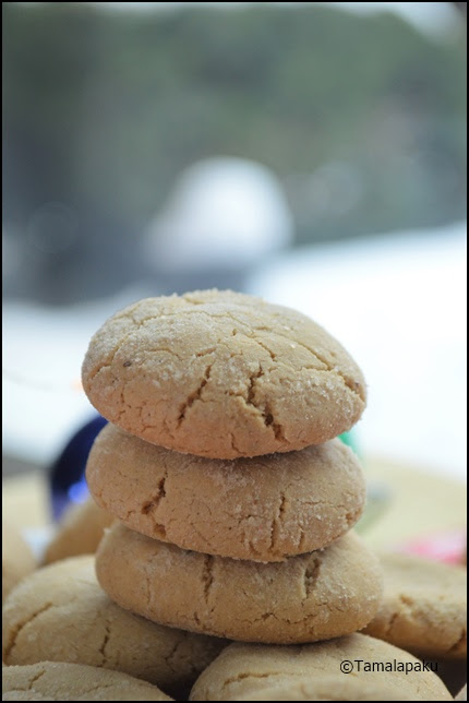 Ginger Cookies - Eggless
