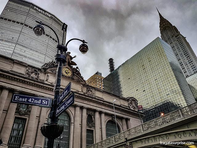 Nova York, Grand Central Station e Edifício da Chrysler