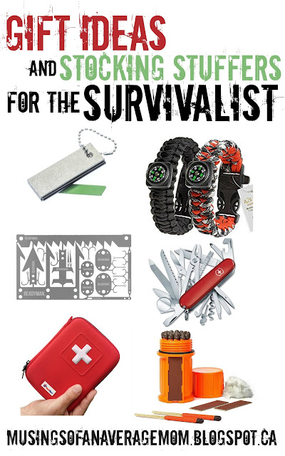 gift ideas for the survivalist