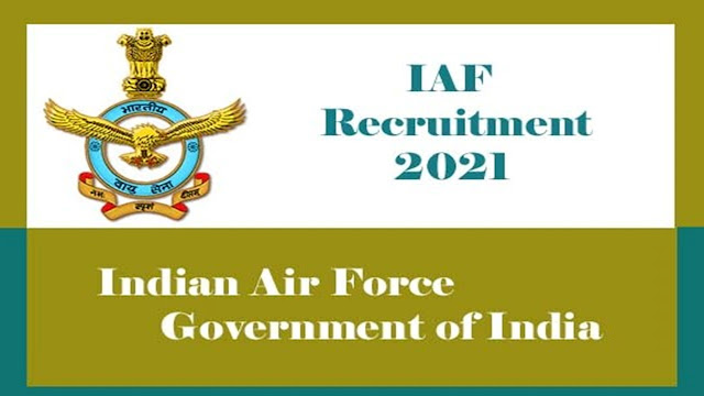 Indian Air Force Recruitment 2020 notification Apply Online for 256 AFCAT 02/ 2020 Posts at indianairforce.nic.in