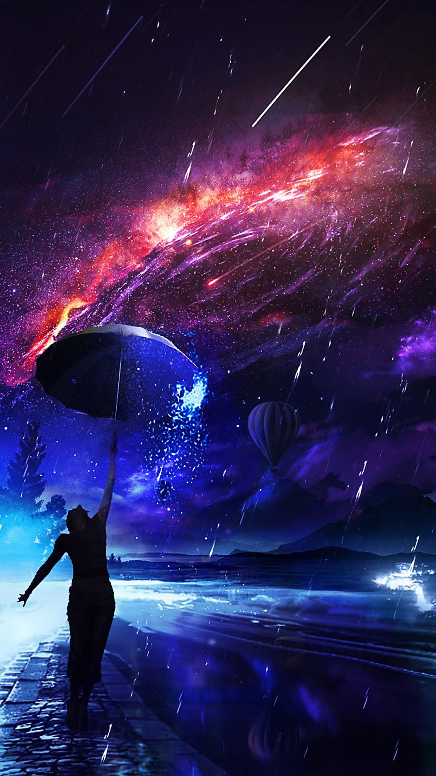 Universe rain