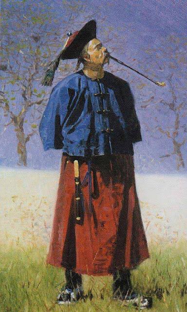 Василий Васильевич Верещагин - Китаец. 1873