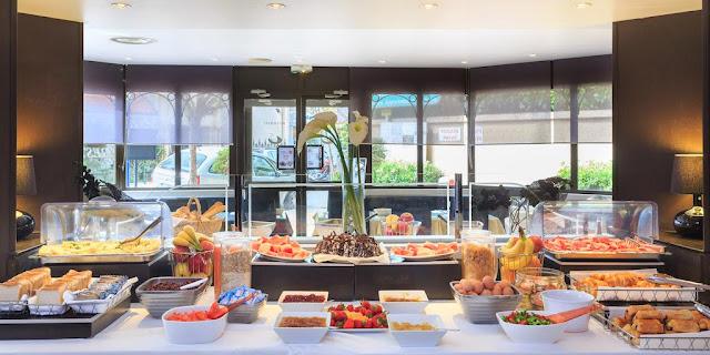 colazione hotel mediterranee menton