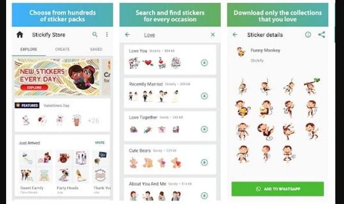 Aplikasi Stiker untuk WhatsApp - Stickify
