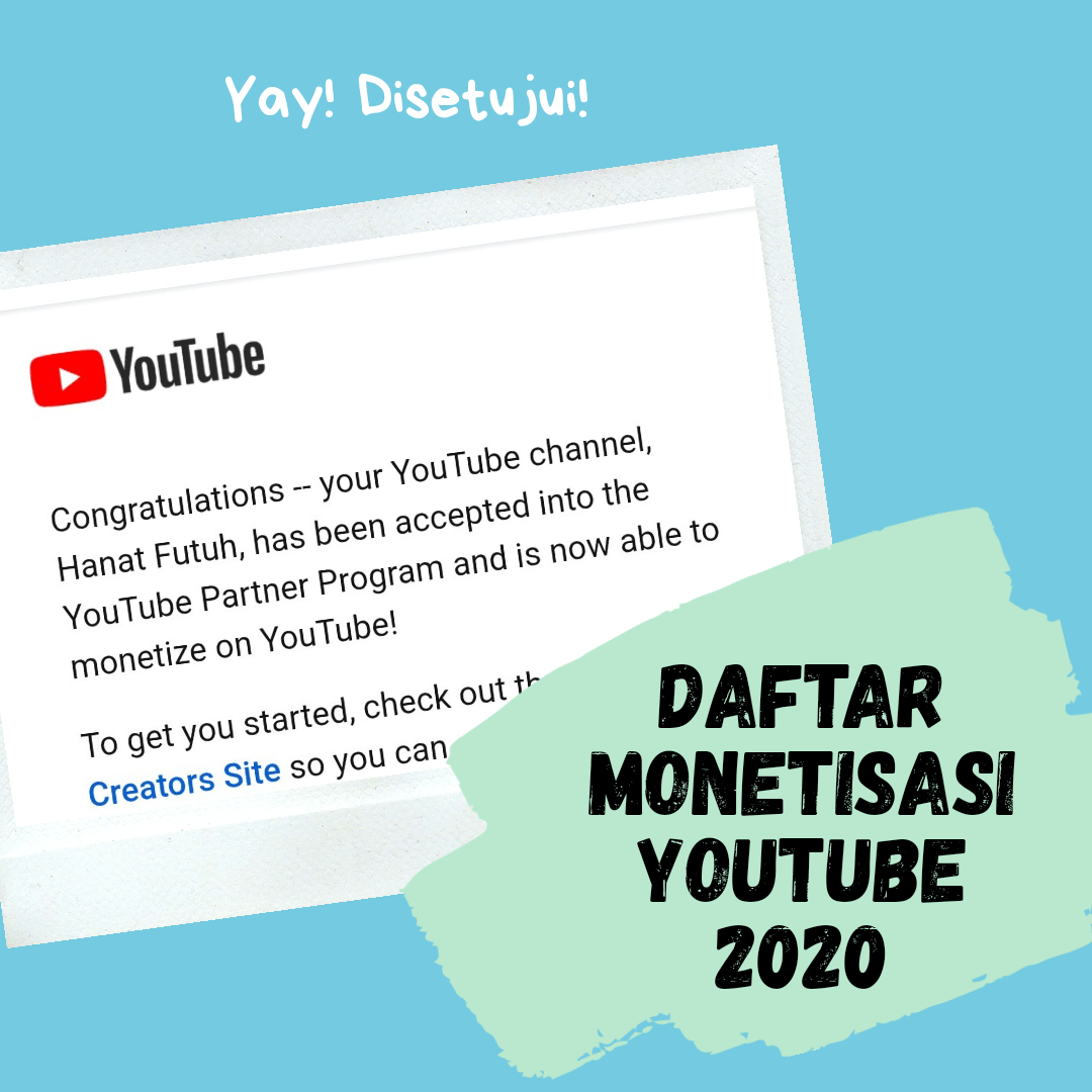 Daftar monetisasi YouTube 2020