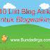 10 List Blog Asik untuk Blogwalking