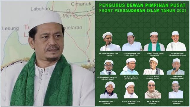 Eks Imam FPI Banten Resmi Diangkat Jadi Ketum Front Persaudaraan Islam