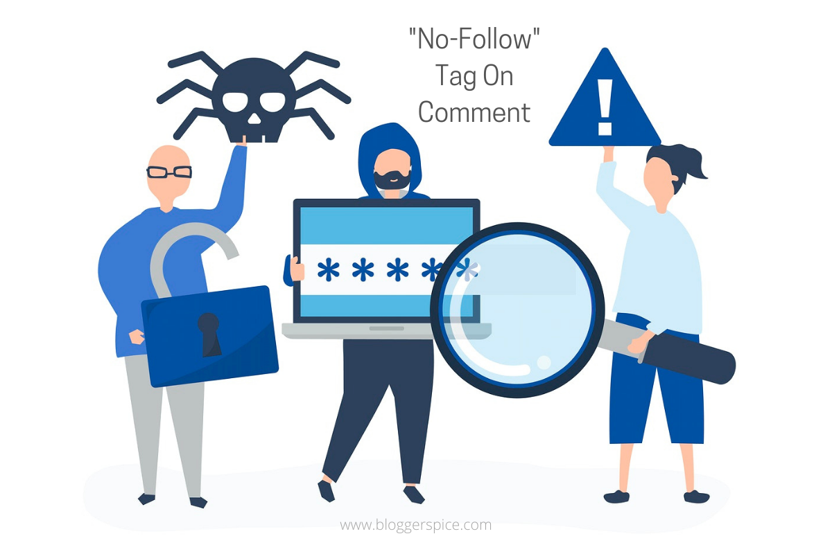 How to Add No-Follow Tag On Comment Permalink