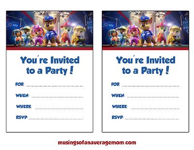 Paw Patrol: The Movie Birthday Party