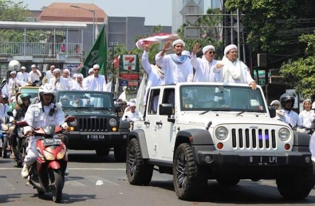 5.000 Massa FPI Cianjur, Siap Jemput Habib Rizieq Shihab
