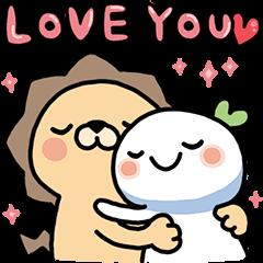 Lailai & Chichi Happy Valentine's Day
