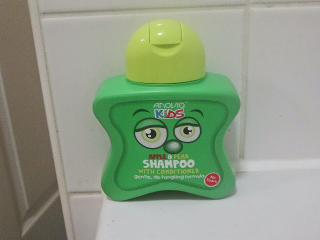 kids and children's beautifully smelling fun shampoo