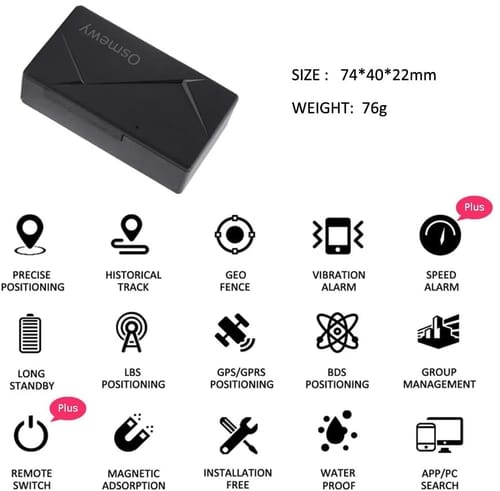 Review Osmewy GT039B Magnetic Car GPS Tracker Vehicle